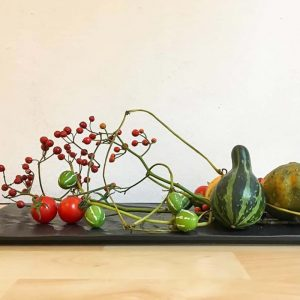 Ikebana composition activity