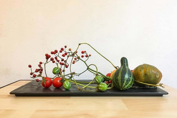 Ikebana composition activity