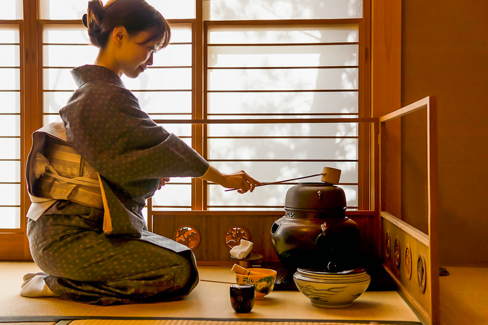 chado tea ceremony inside out japan