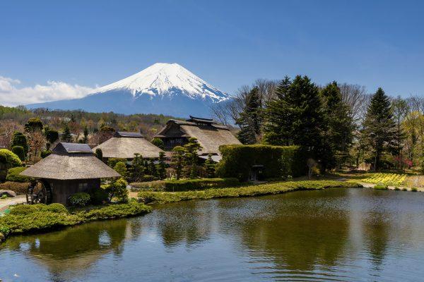 Mount Fuji Lake